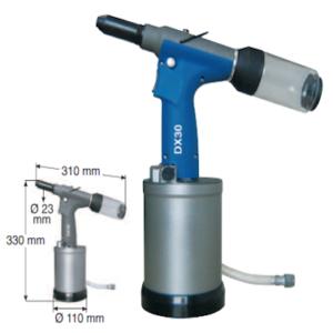Sacto Rivettatrice Pneumatica DX30 mm