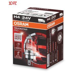 Lampadine Osram Truckstar Pro H4 24 V 75/70 W