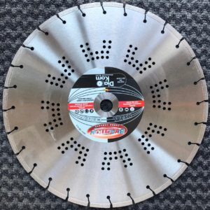 Disco diamantato Diakom Bi Action ferro-cemento per mototroncatrice Ø 400 mm