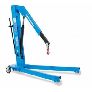 Gru idraulica a carrello pieghevole OMCN art. GP10/DE 1000 Kg.