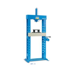 Pressa idraulica con pompa a mano OMCN 20 Ton art 156